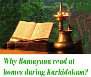 Karkidakam Month ramayana reading