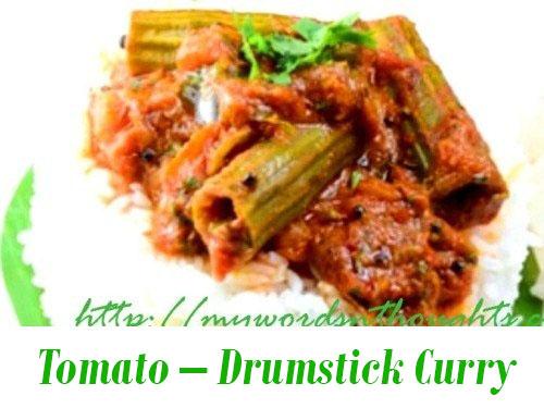 Thakkali-Muringakka Curry