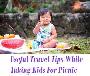 Taking Kids For Picnic