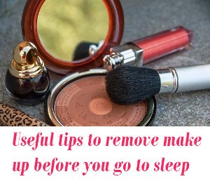 remove makeup tips