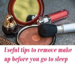 remove makeup tips