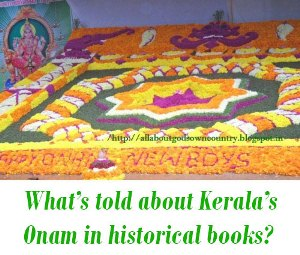 Kerala's Onam in historical books