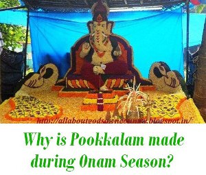 Why is Pookkalam made