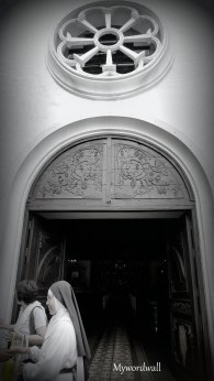 Main Door of Our Lady of Victories Church, New Manila, Quezon City