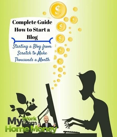 guide how to start a blog make money from home