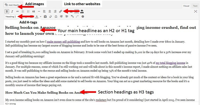 how to start a blog write a post
