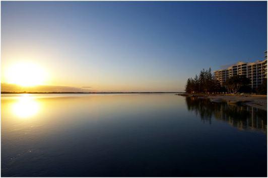 WorldMark Resort Golden Beach sunset exterior