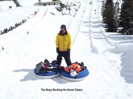 Rocking the Snow Tubes