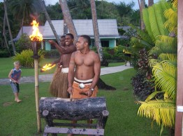 Village Locals Welcoming Ceremony