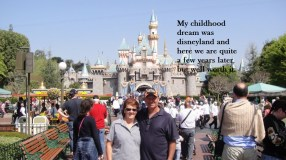 Fred & Johnene @ Disneyland