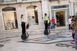 Police Patrol Lisbon
