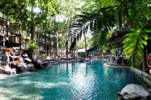 The gorgeous pool at Ramada Port Douglas.