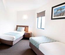 The second, twin, bedroom in a 2-Bedroom apartment at WorldMark Resort Golden Beach