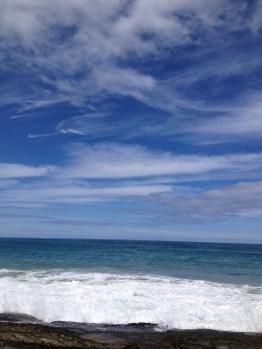 Victorian coastline - where ocean and sky meet