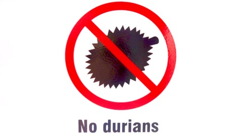 Durian, Durianverbot