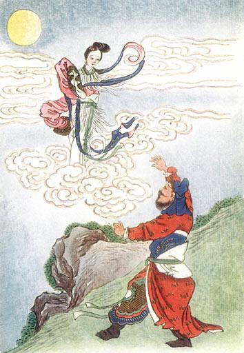Chang'e fliegt zum Mond