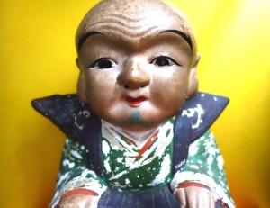 Japanisches Keramikfigur