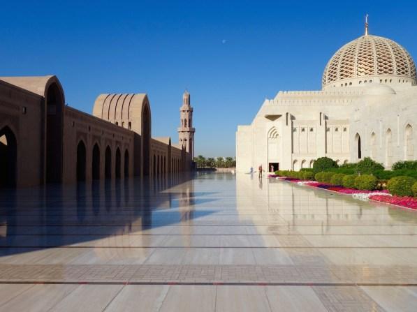 Maskat, Oman, Sultan-Qabus-Moschee