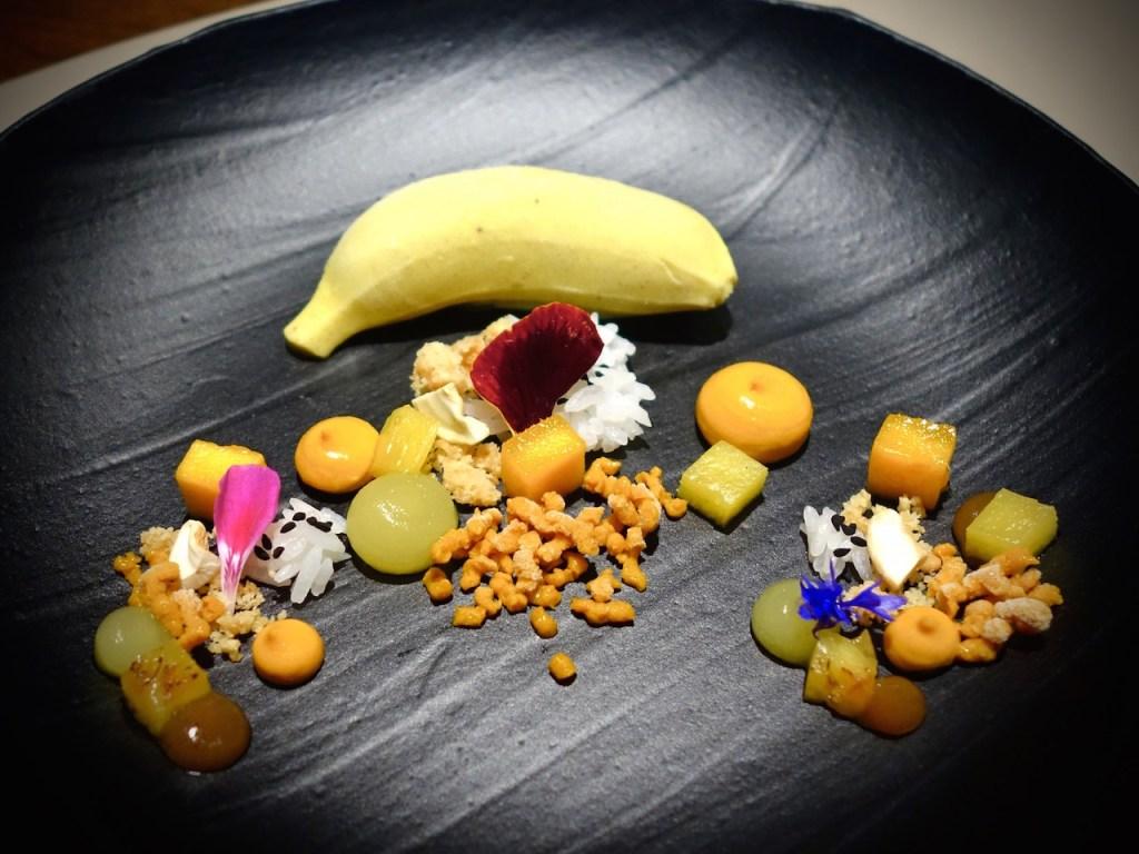 The Table, 3 Michelin-Sterne in Hamburg, Dessert, Banane Tandoori
