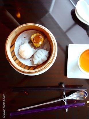 Typische Dumplings aus Taipei, Taiwan