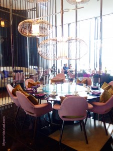Taipeh, Taiwan, Interieur des Restauran Yen im W-Hotel