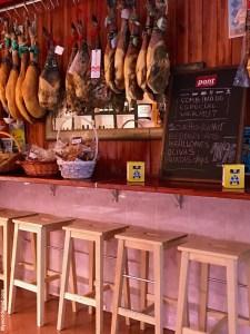 Barcelona, El Nou Clotiberi, Jamon Iberico Fachhandel