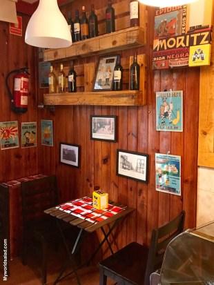Spanischer Schinken, Geschäft in Barcelona, Clotjpg