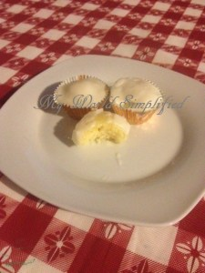 Pineapple Cupcakes with Coconut Icing