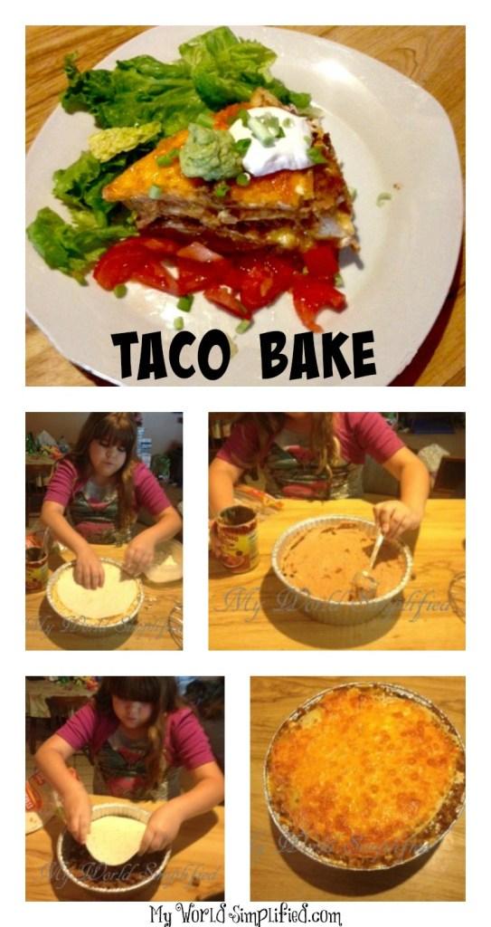 taco bake pie