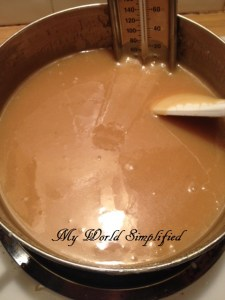 caramel sauce homemade