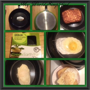 Review: Ozeri 8″ Textured Green Earth pan