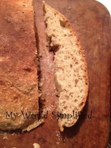 Rye bread homemade