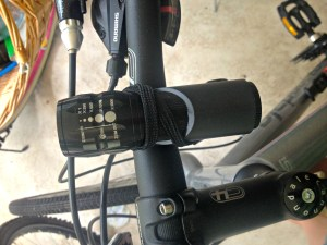 Ride at night with this bike light