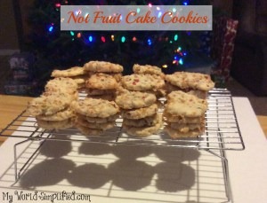 Not Fruit Cake Cookie