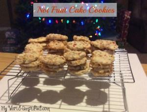 Not Fruit Cake Cookie