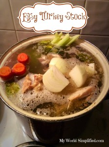 Turkey Stock Recipe