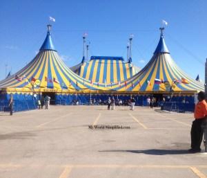 cirque du soleil tent