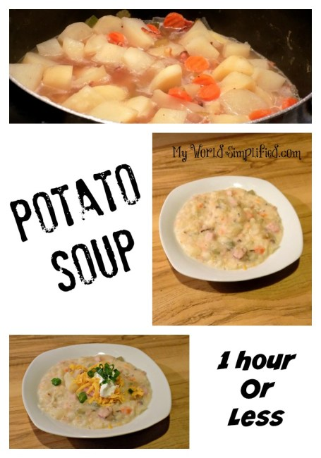 potato soup 1 hour