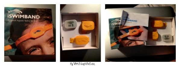 iSwimband contents