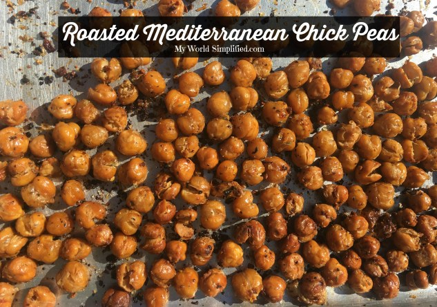 Roasted Mediterranean Chick Peas