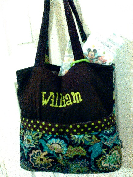 William Diaper bag