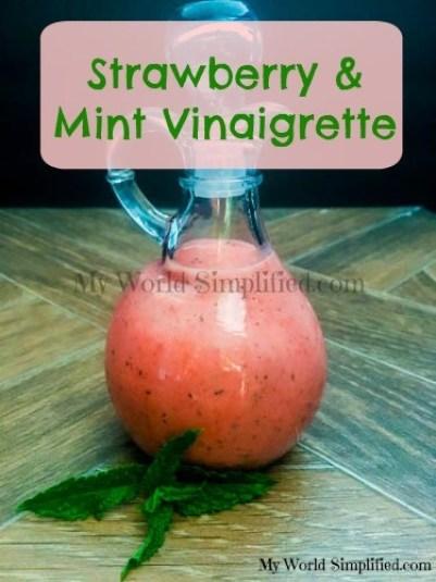 Strawberry Mint Vinaigrette