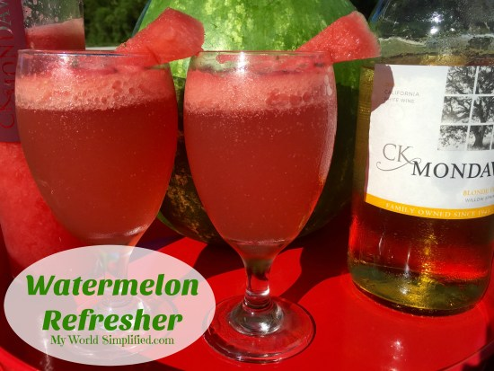 Watermelon Refresher Cocktail