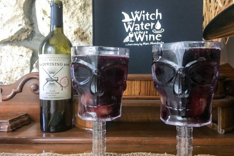 Divine Witches Brew Sangria With The Divining Rod Wines Drinkupwitches My World Simplified