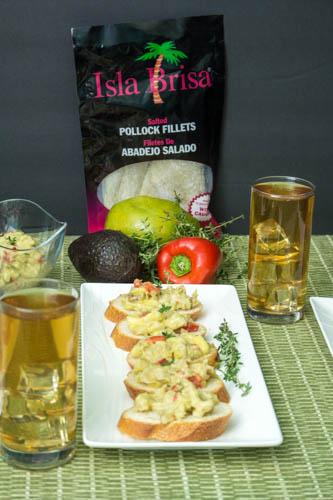 Mango, Avocado, and Salt Fish Salad Recipe