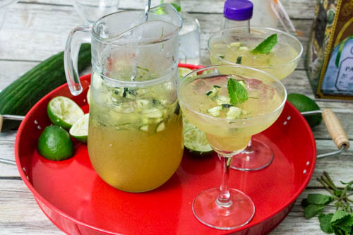 Cucumber & Mint Margarita Recipe