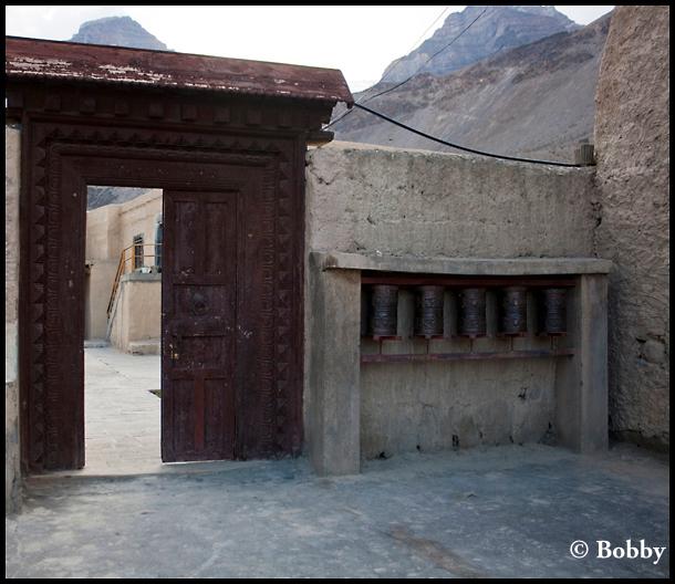 Entrance to the Tabo Monastery.
