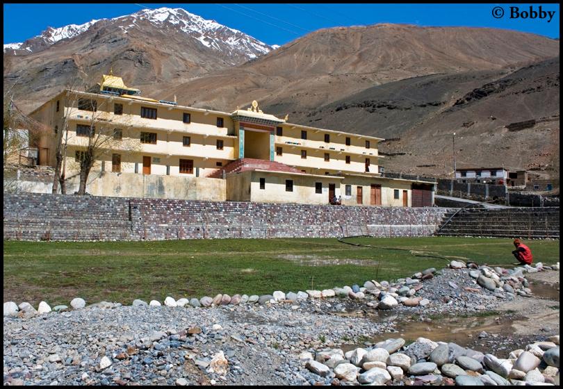 Gungri Monastery, Pin Valley.