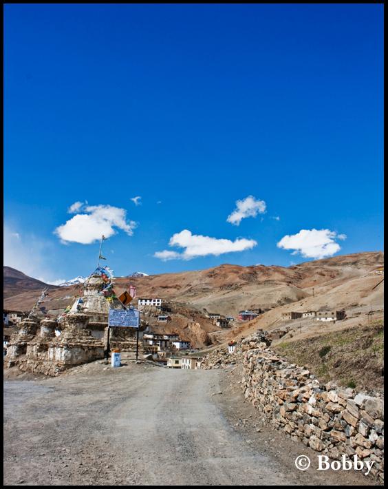 Kibber Village.