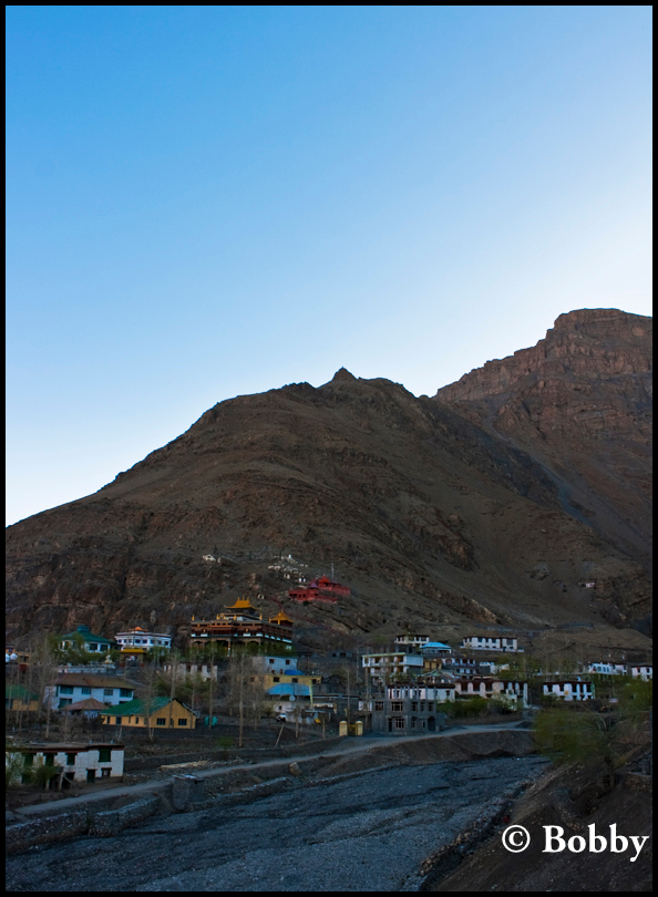 Kaza town at 0530 hours.